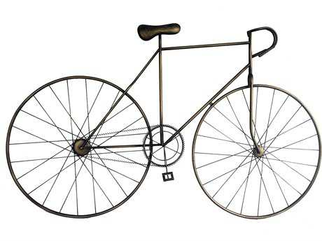 Moe's Home Collection Mcmillan Bronze Bicycle Wall Art MEMQ100131