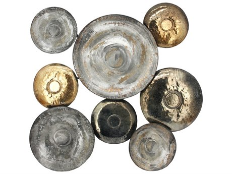 Moe's Home Collection Metal Disc Wall Decor MEHW106737