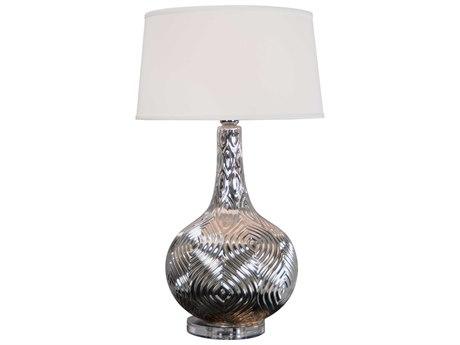 Moe's Home Collection Morroco Silver Table Lamp MERM104430