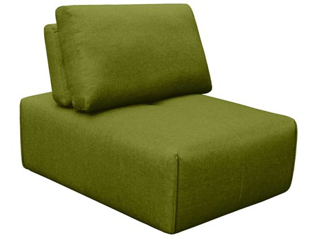 Moe's Home Collection Nathaniel Green Slipper Chair