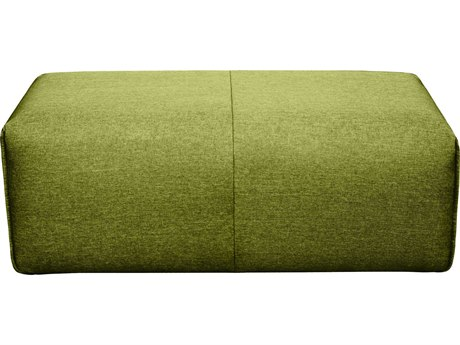 Moe's Home Collection Nathaniel Green Ottoman MEMT101016