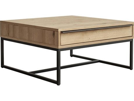 Moe's Home Collection Nevada Brown 31'' Wide Square Coffee Table