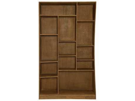 Moe's Home Collection Niagara 48'' x 15'' Acacia Wood Left Bookcase
