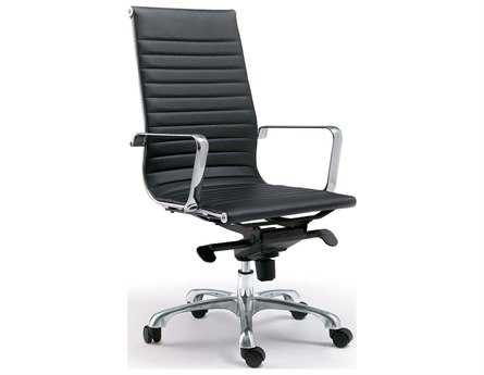 Moe's Home Collection Omega Black Office Chair MEZM100102