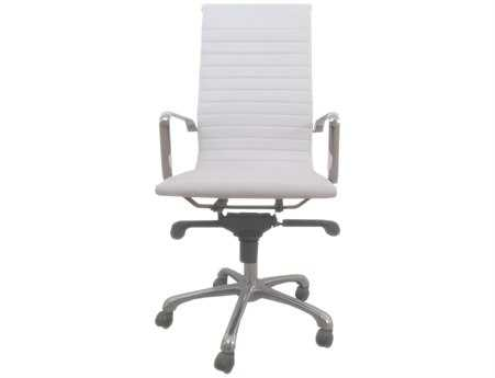 Moe's Home Collection Omega White Office Chair MEZM100118