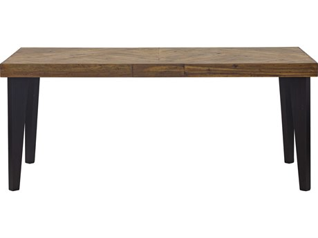 Moe's Home Collection Parq Cappuccino 72'' x 38'' Rectangular Dining Table METL100914