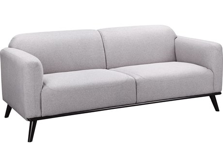 Moe's Home Collection Peppy Grey Loveseat Sofa