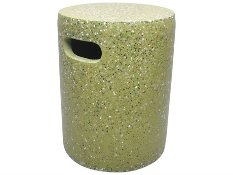 Moe's Home Collection Pillar Green Accent Stool MEVZ100116