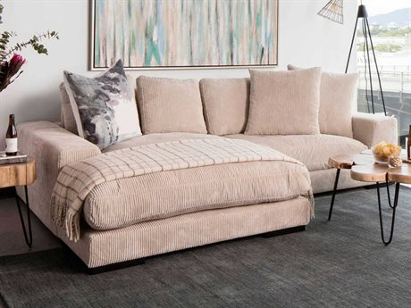 Moe's Home Collection Plunge Cappuccino Sectional METN100414