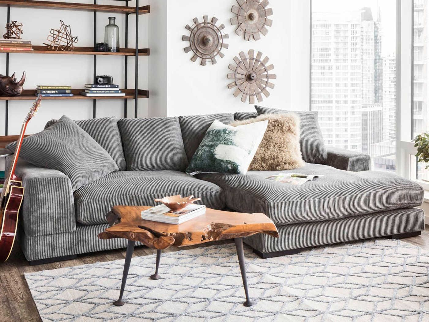 Collection Plunge Dark Gray Sectional