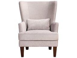 Prince Grey Velvet Accent Chair