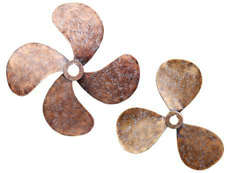 Moe's Home Collection Propellers Wall Decor (Set of 2) MEHW104432