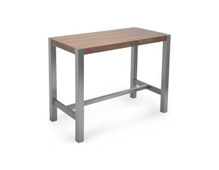 Moe's Home Collection Riva 47 x 24 Rectangular Walnut Counter Table MEER107903