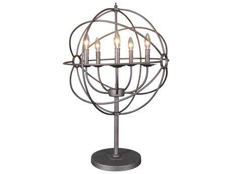 Moe's Home Collection Rossana Brown Buffet Lamp MERM102420