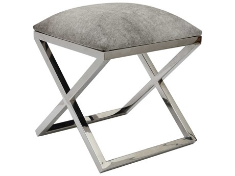 Moe's Home Collection Rossi Grey Accent Stool