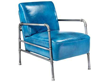 Moe's Home Collection Royce Blue Accent Chair