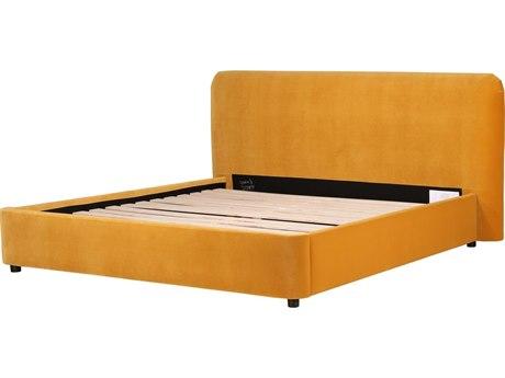 Moe's Home Collection Samara Yellow King Platform Bed
