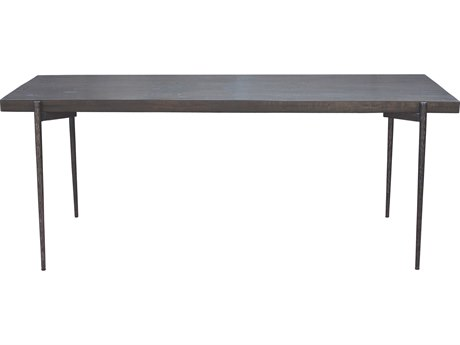 Moe's Home Collection Shutter Antique 79'' x 35'' Rectangular Dining Table MEPP100401