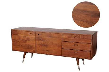 Moe's Home Collection Sienna 82.7 x 16 Walnut Sideboard MECB102403