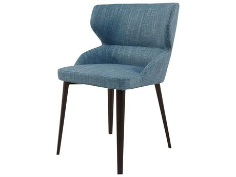 Moe's Home Collection Skylar Light Blue Side Dining Chair MEEJ103345