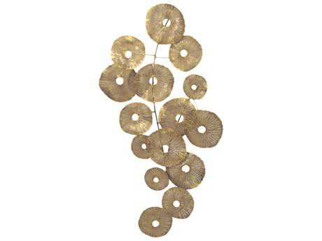 Moe's Home Collection Small Circles Gold Wall Decor