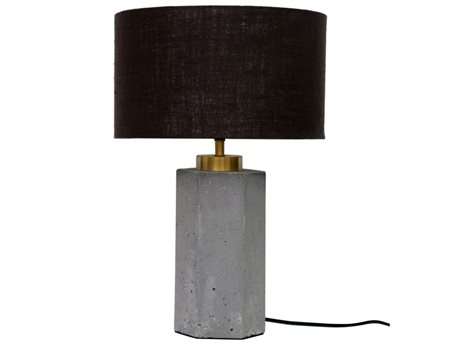 Moe's Home Collection Light Grey One-Light Table Lamp