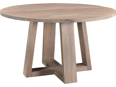 Moe's Home Collection Tanya Light Grey 54'' Wide Round Dining Table