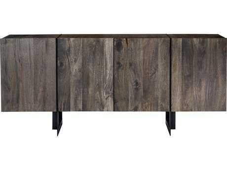 Moe's Home Collection Tiburon Large 72.5'' x 16'' Solid Mango Wood Sideboard