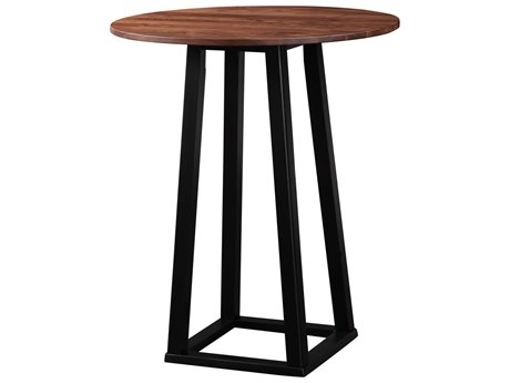 Moe's Home Collection Tri-Mesa Brown 36'' Round Bar Table MEBC103303