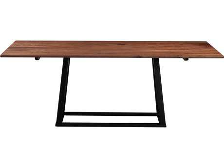 Moe's Home Collection Tri-Mesa 79'' x 39'' Rectangular Walnut Wood Dining Table MEBC103003