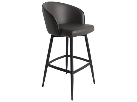 Moe's Home Collection Webber Charcoal Grey Bar Stool