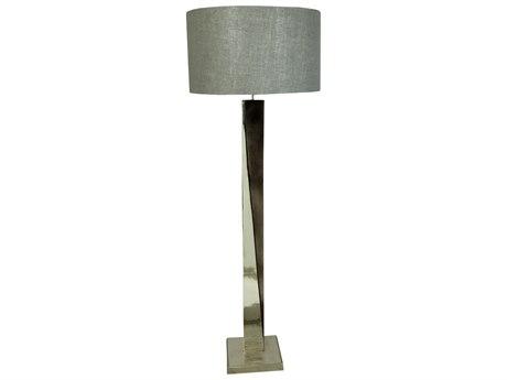 Moe's Home Collection Wilder Grey Floor Lamp MEIX103615