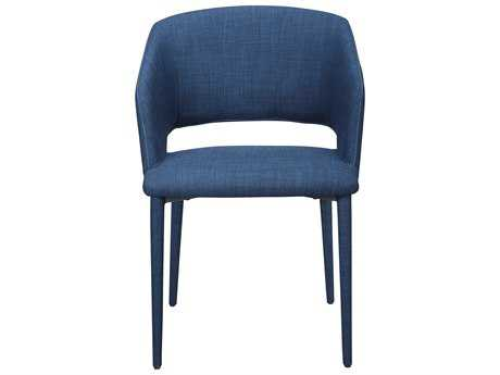 Moe's Home Collection William Navy Blue Dining Chair MEHK100226