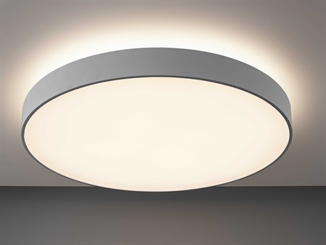 Molto Luce Bado Matte Chrome One-Light LED Flushmount ML22003