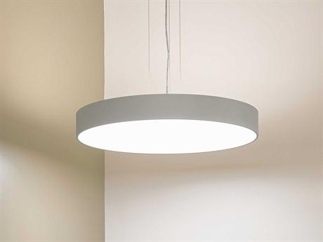 Molto Luce Bado Matte Chrome One-Light LED Pendant ML22004