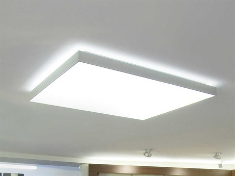 Molto Luce Cadan Matte Chrome One-Light LED Flushmount ML22008