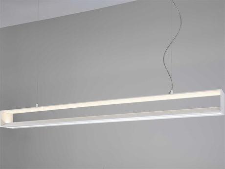 Molto Luce Chunnel White Two-Light LED Island Light ML56910