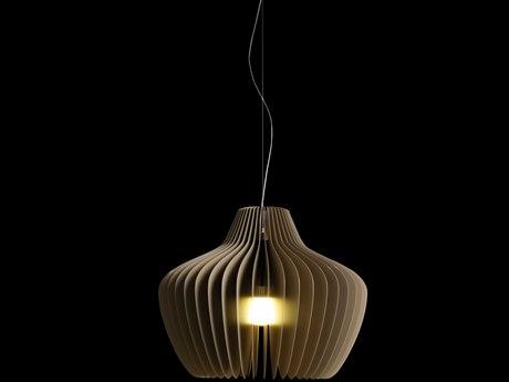 Molto Luce Lamella Mela One-Light 21'' Wide Pendant ML59212