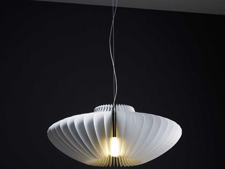 Molto Luce Lamella Pesca One-Light 24.5'' Wide Pendant ML59214