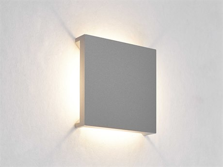 Molto Luce Q-4 Matte Chrome One-Light LED Wall Sconce