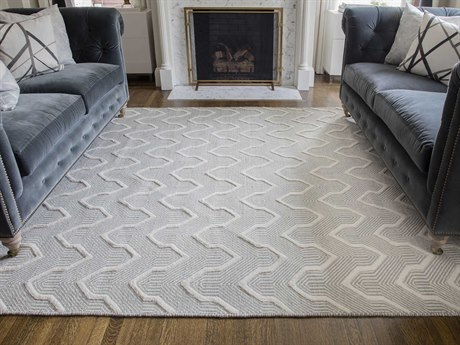 Momeni Langdon Grey Rectangular Area Rug