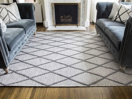 Momeni Langdon Charcoal Rectangular Area Rug