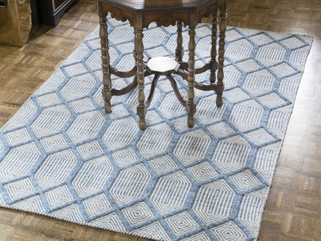 Momeni Langdon Blue Rectangular Area Rug