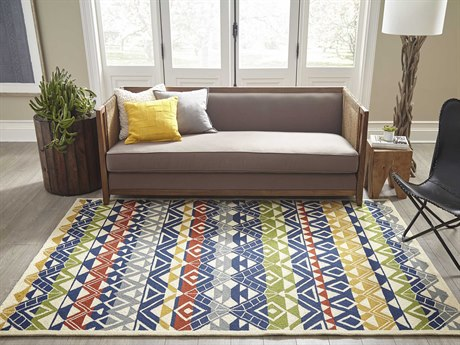 Momeni Veranda Multi Rectangular Area Rug