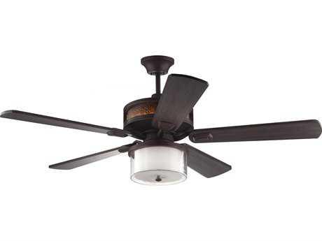 Monte Carlo Fans Artizan Roman Bronze 56'' Wide Indoor Ceiling Fan MCF5AZR56RB