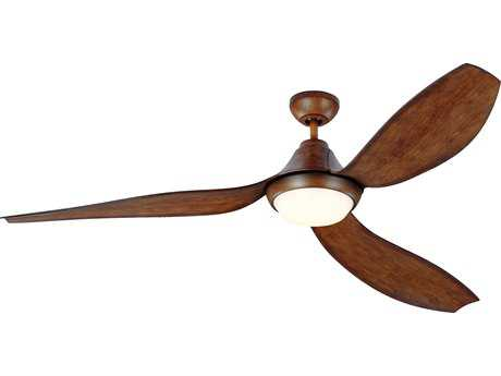 Monte Carlo Fans Avvo Max Koa 64'' Wide Indoor/Outdoor Ceiling Fan with LED Light MCF3AVMR64KOAD