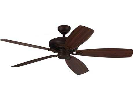 Monte Carlo Fans Bonneville Max Roman Bronze 60'' Wide Indoor Ceiling Fan MCF5BHM60RB