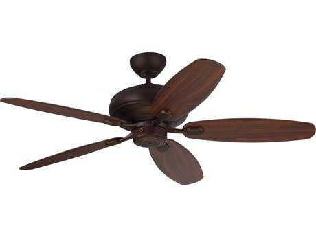 Monte Carlo Fans Centro Max Roman Bronze 52'' Wide Indoor Ceiling Fan MCF5CQM52RB