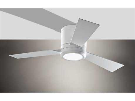 Monte Carlo Fans Clarity Ii Rubberized White Indoor Ceiling Fan MCF3CLYR42RZWD