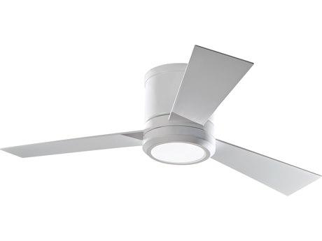 Monte Carlo Fans Clarity II Matte White 36-Light 42'' Wide LED Indoor Ceiling Fan MCF3CLYR42RZWDV1